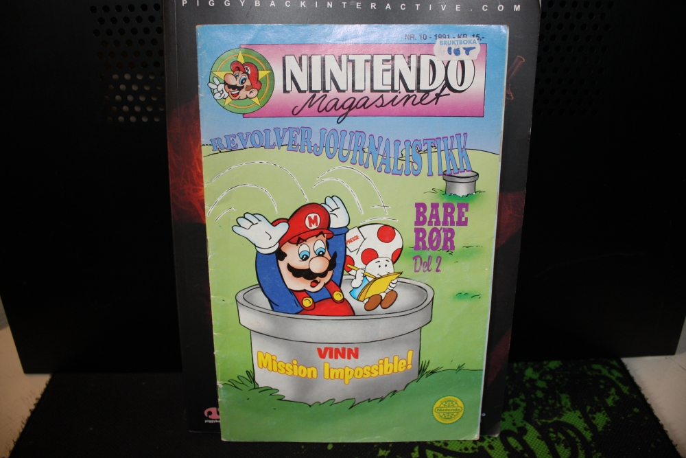 Nintendo Magasinet 1991 Nr: 10.