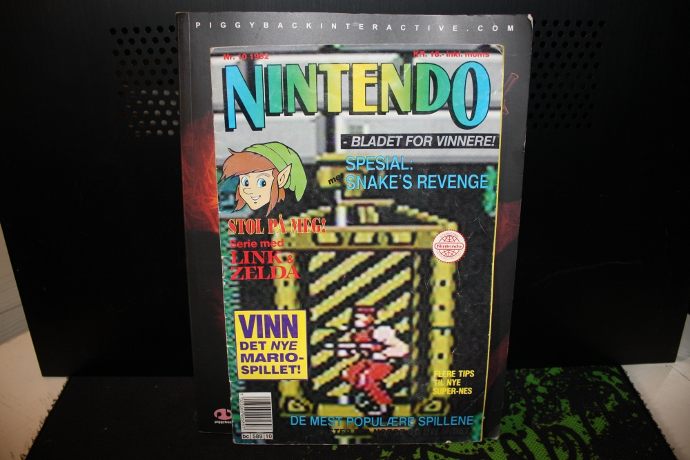 Nintendo Magasinet 1992 Nr: 10.