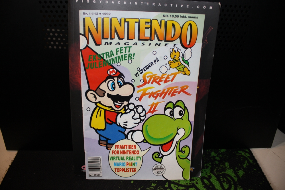 Nintendo Magasinet 1992 Nr: 11-12.