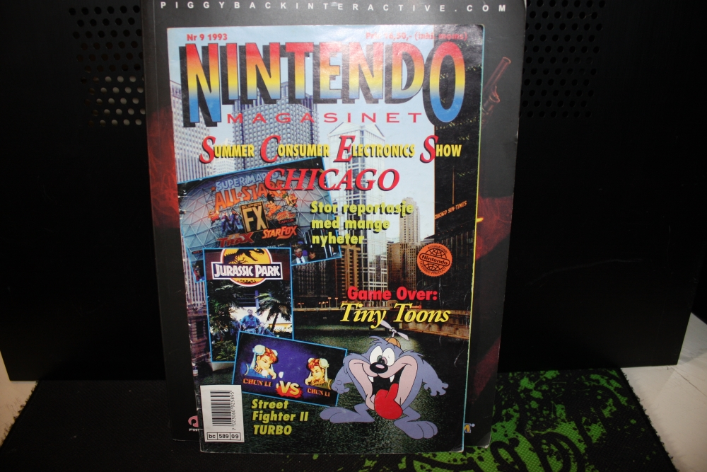 Nintendo Magasinet 1993 Nr: 9.