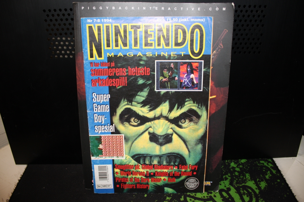 Nintendo Magasinet 1994 Nr: 7-8.