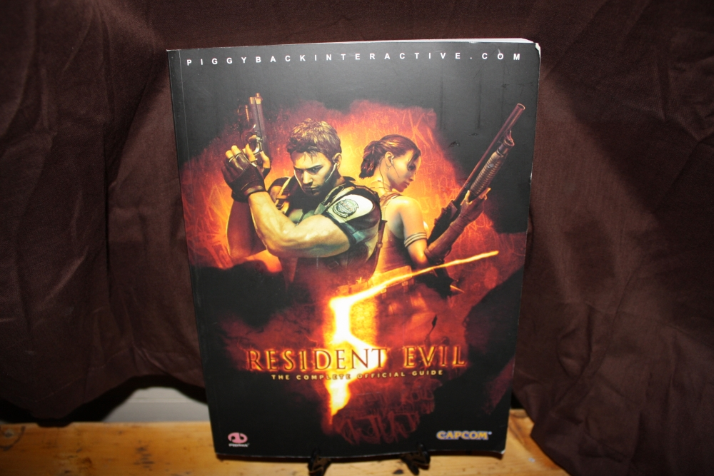 Resident Evil 5: The Complete Official Guide.