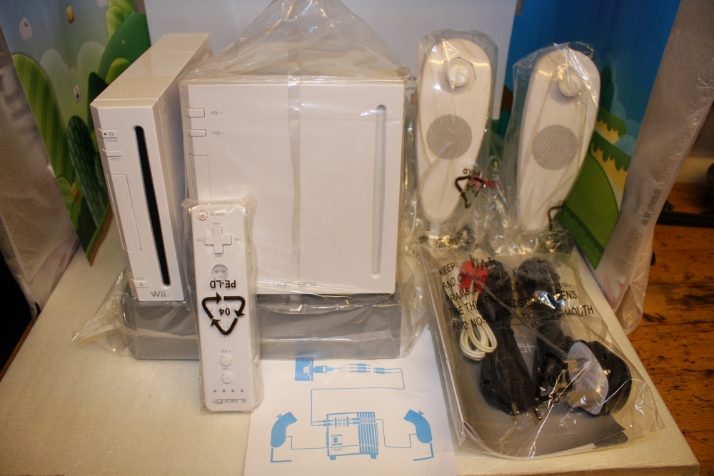 Wii 4Gamers Officially Licensed 2.1 Speaker System.