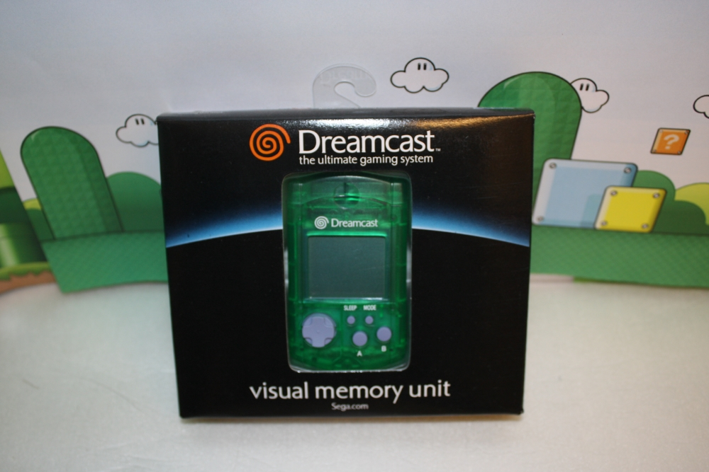 Dreamcast Visual Memory Unit (Grønn).