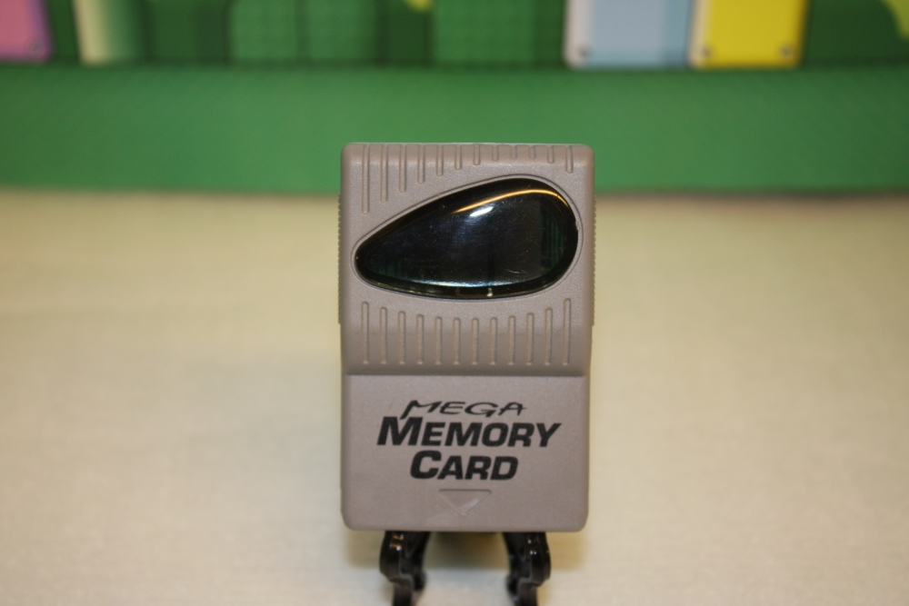 Playstation Mega Memorycard.