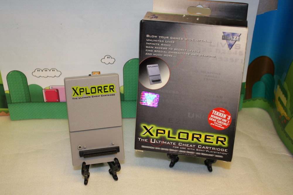 Playstation Xplorer.
