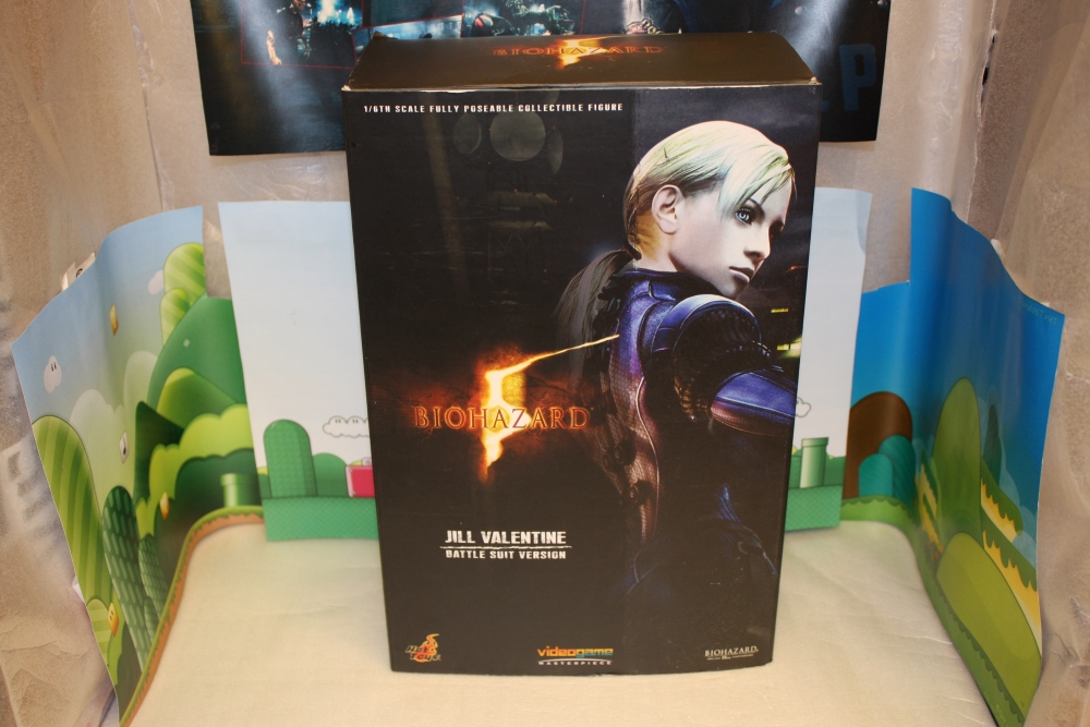 Jill Valentine - Battlesuit Edition (Biohazard 5) (Hot-Toys).