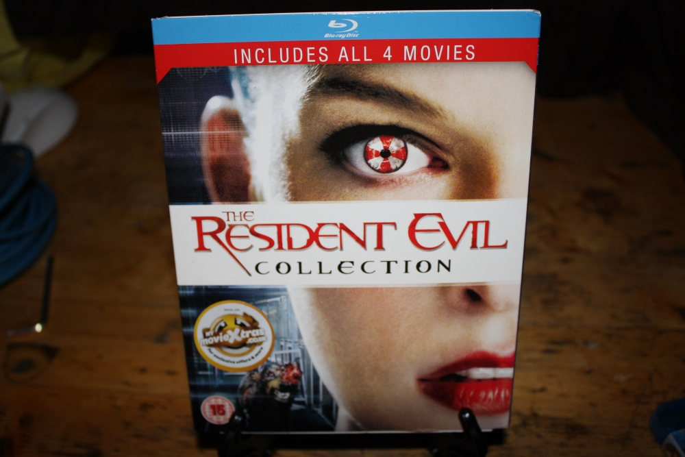 Resident Evil Collection 1-4 (Film/Blueray).