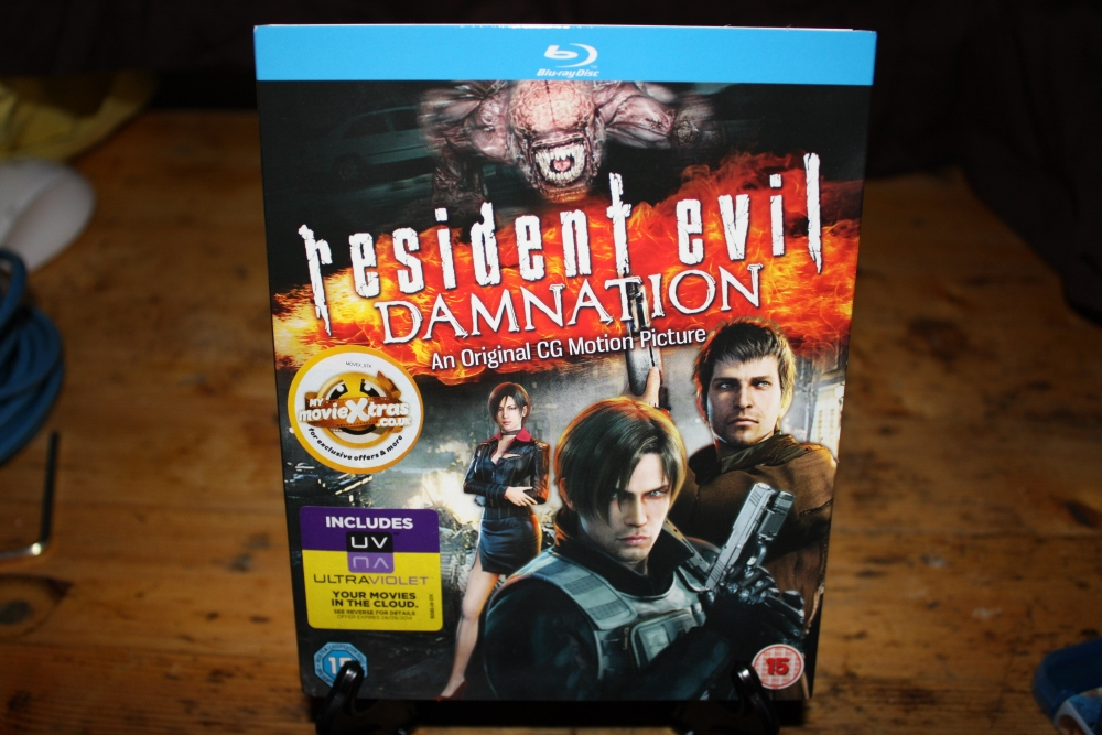 Resident Evil: Damnation (Film/Blueray).