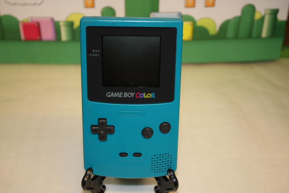 GameBoy Color (Turkis).