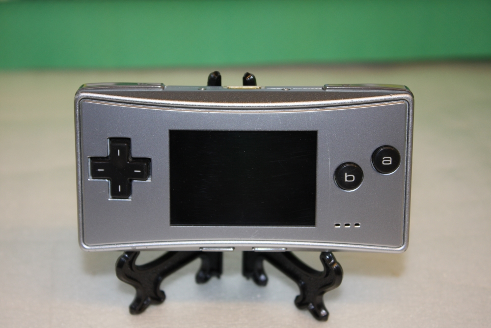 GameBoy Micro (Silver).