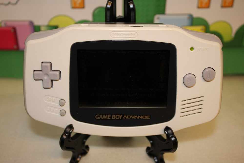 GameBoy Advance (Hvit).