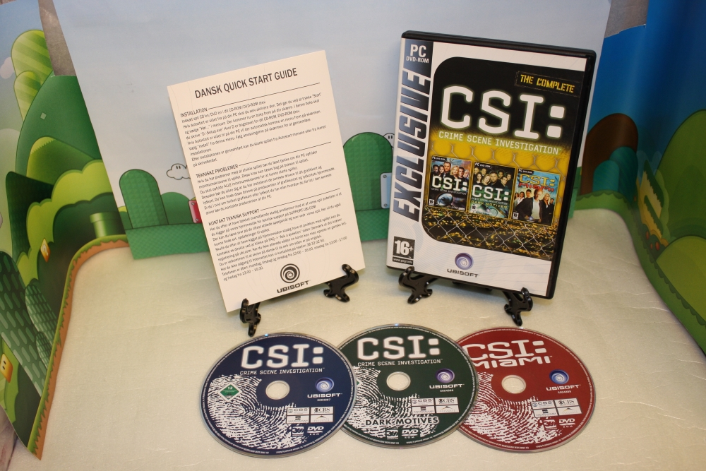 C.S.I. The Complete.