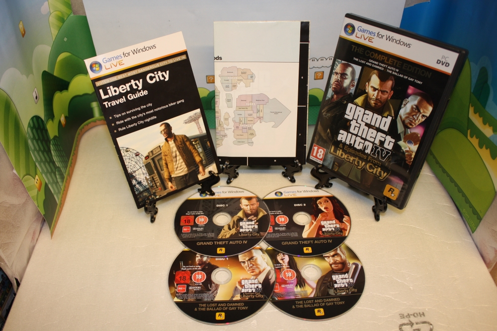 Grand Theft Auto 4: Liberty City (The Complete Edition).