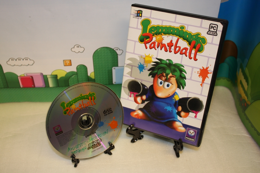 Lemmings Paintball.
