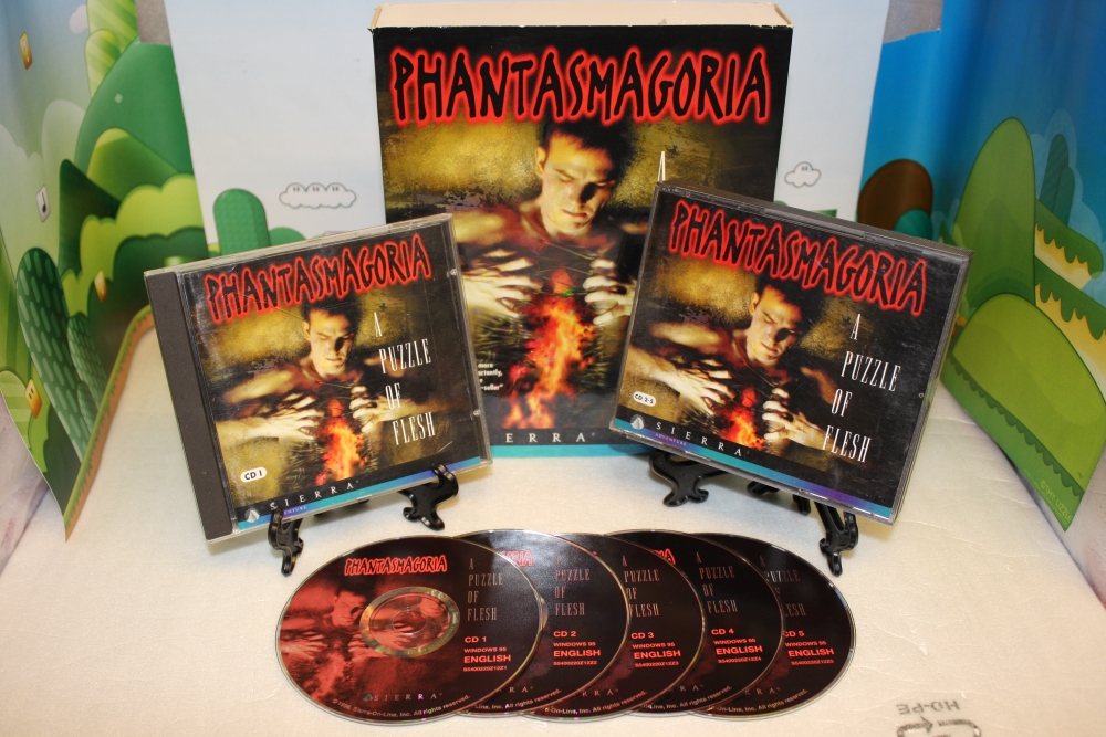 Phantasmagoria 2: A Puzzle of Flesh.