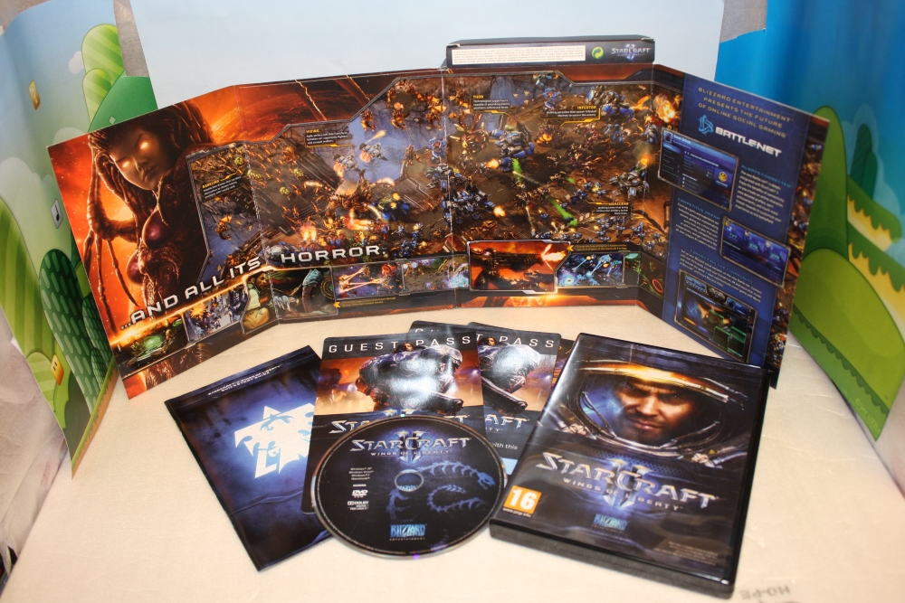 StarCraft 2: Wings of Liberty.
