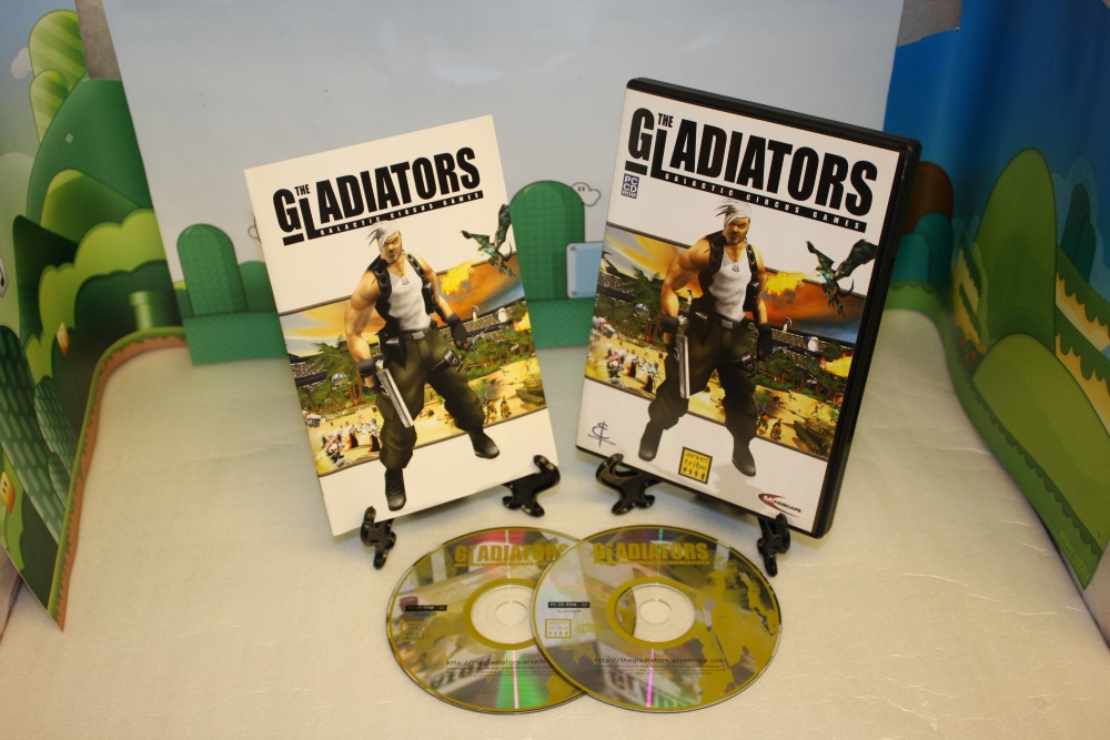 The Gladiators: Galactic Circus Games.