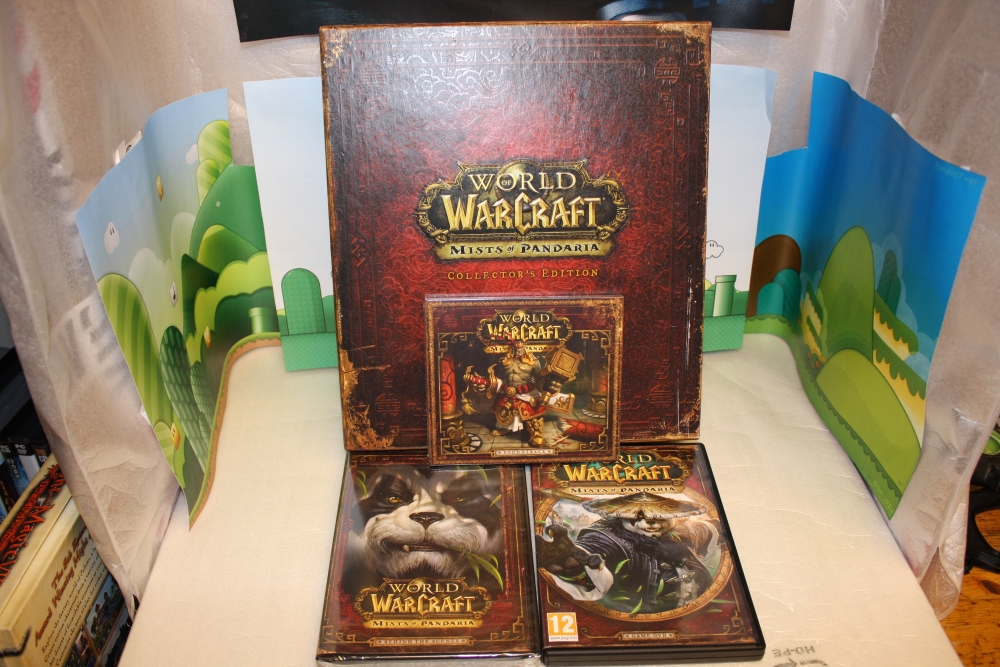 World of Warcraft: Mists of Pandaria (Collector's Edition).