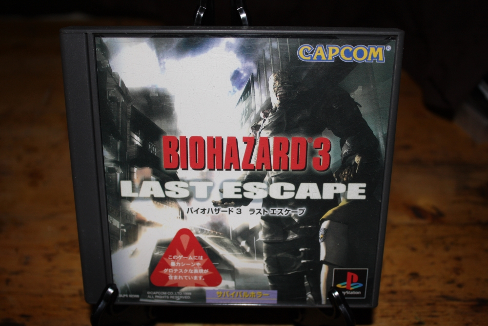 Biohazard 3: The Last Escape (PS NTSC-J).