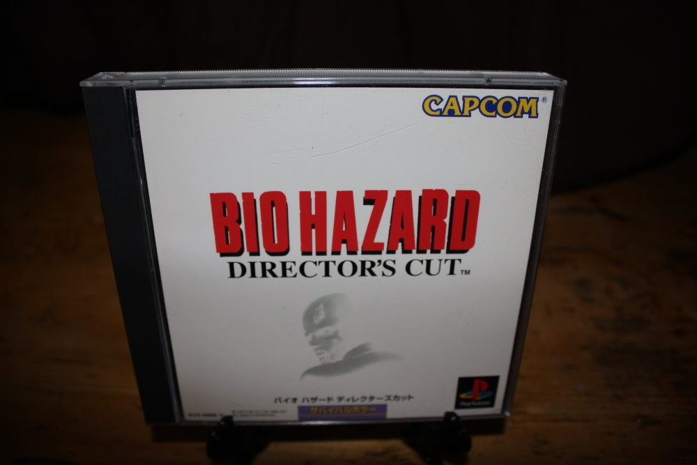 Biohazard: Director's Cut (PS1).