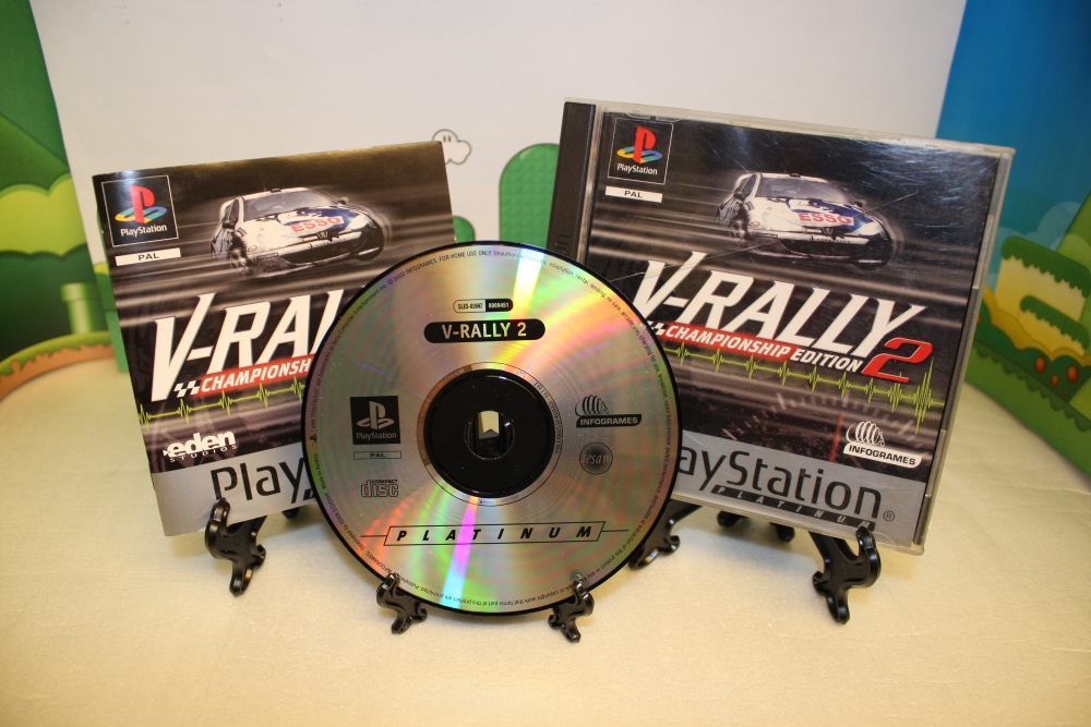V-Rally 2 - Championship Edition (Platinum).
