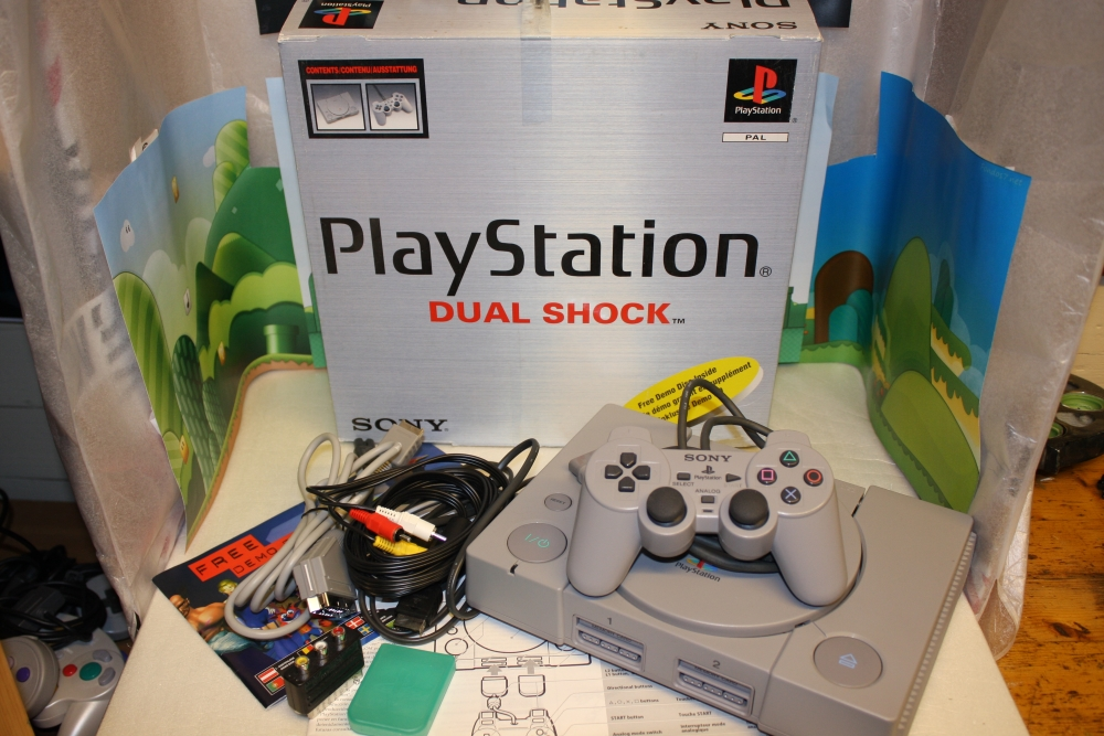 Playstation PAL Boxed.