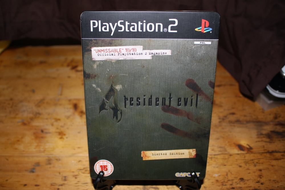 Resident Evil 4: Limited Edition Steelbook (PS2 PAL).