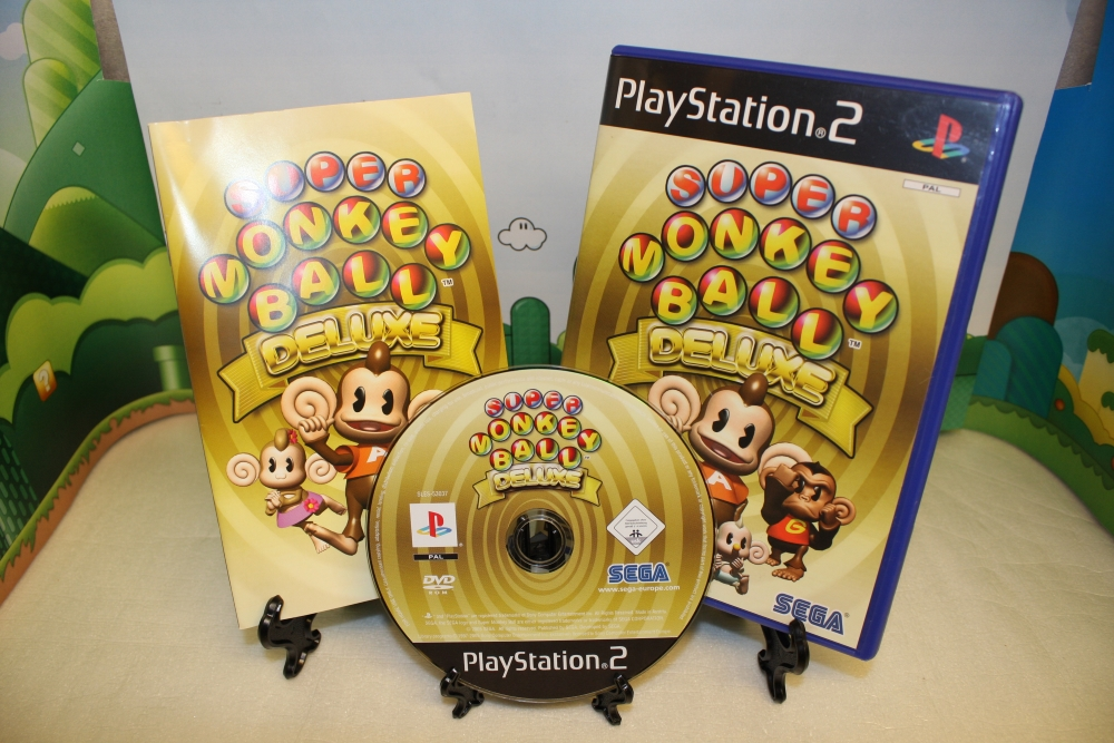 Super Monkey Ball Deluxe.