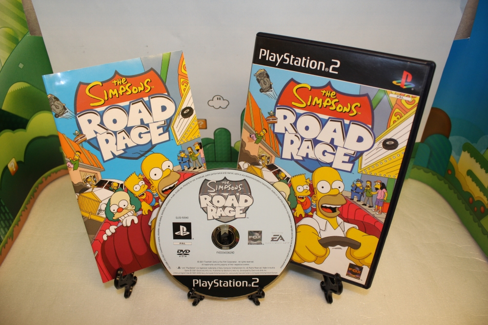 The Simpsons: Road Rage.