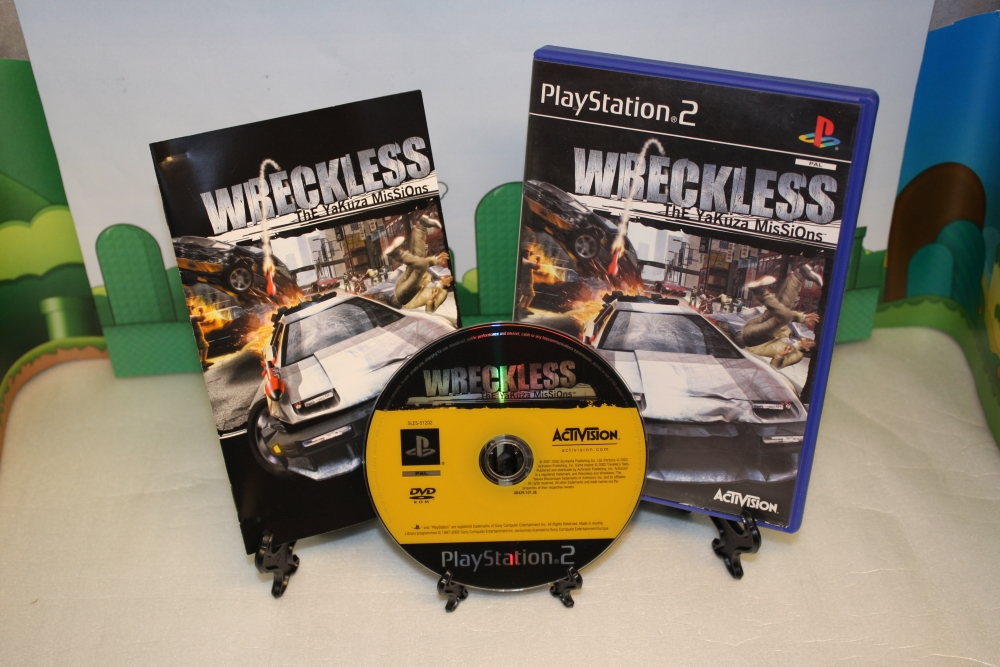 Wreckless: The Yakuza Missions.