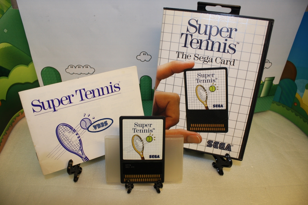 Super Tennis (Sega Card).