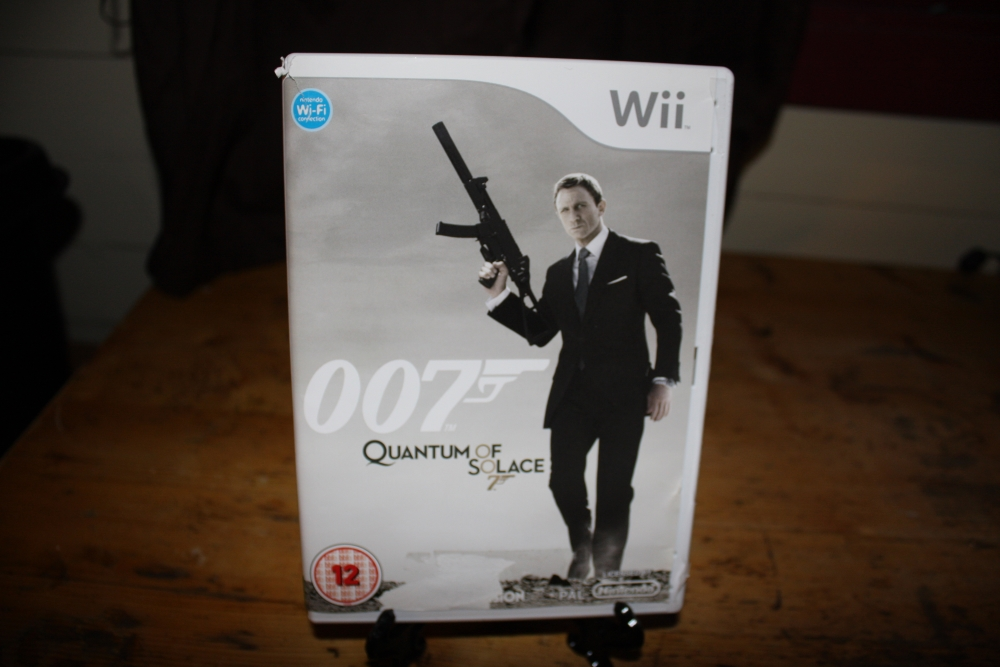 007 Quantum of Solace.