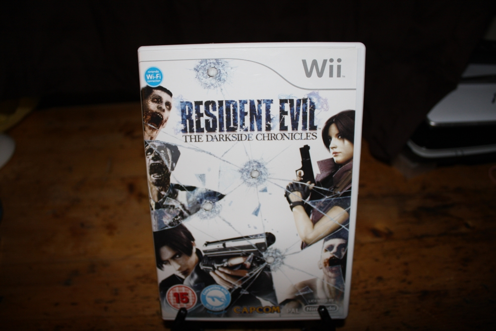 Resident Evil: The Darkside Chronicles (Wii PAL).