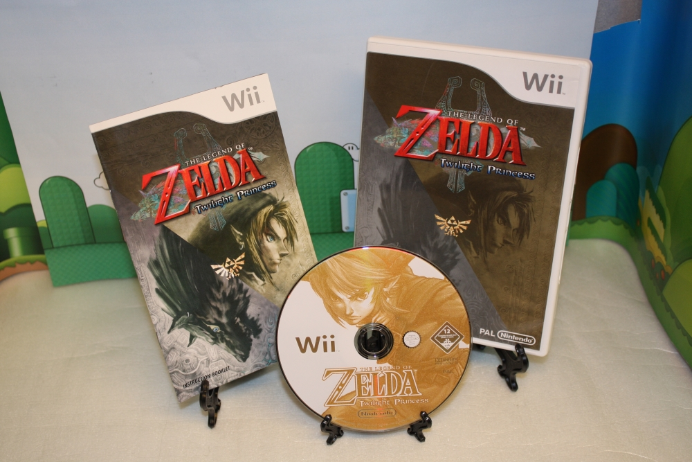 The Legend of Zelda - Twilight Princess.