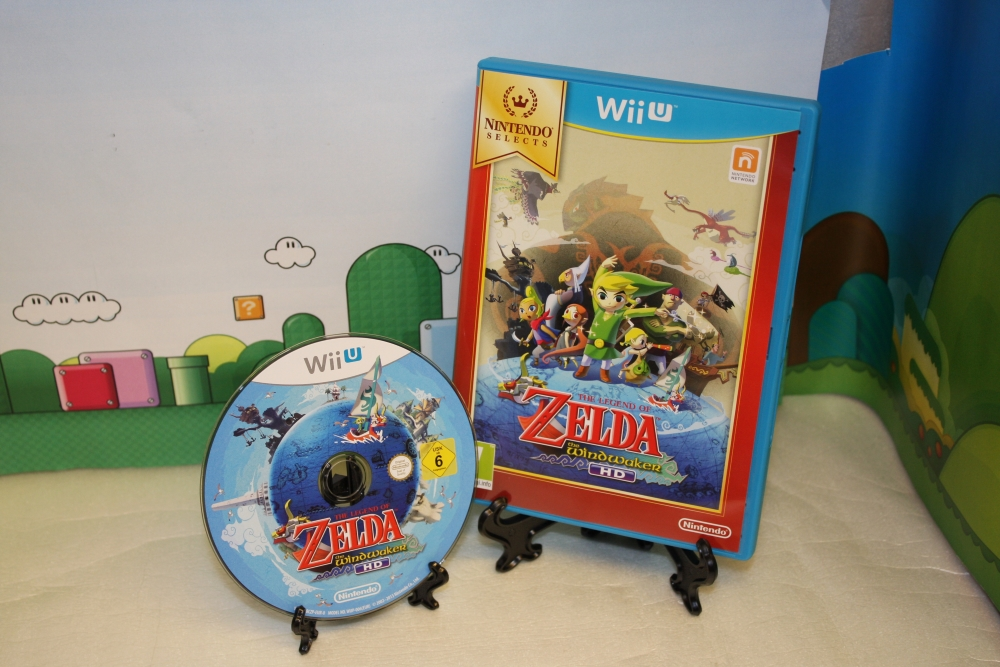 The Legend of Zelda - The Windwaker HD (Nintendo Selects).