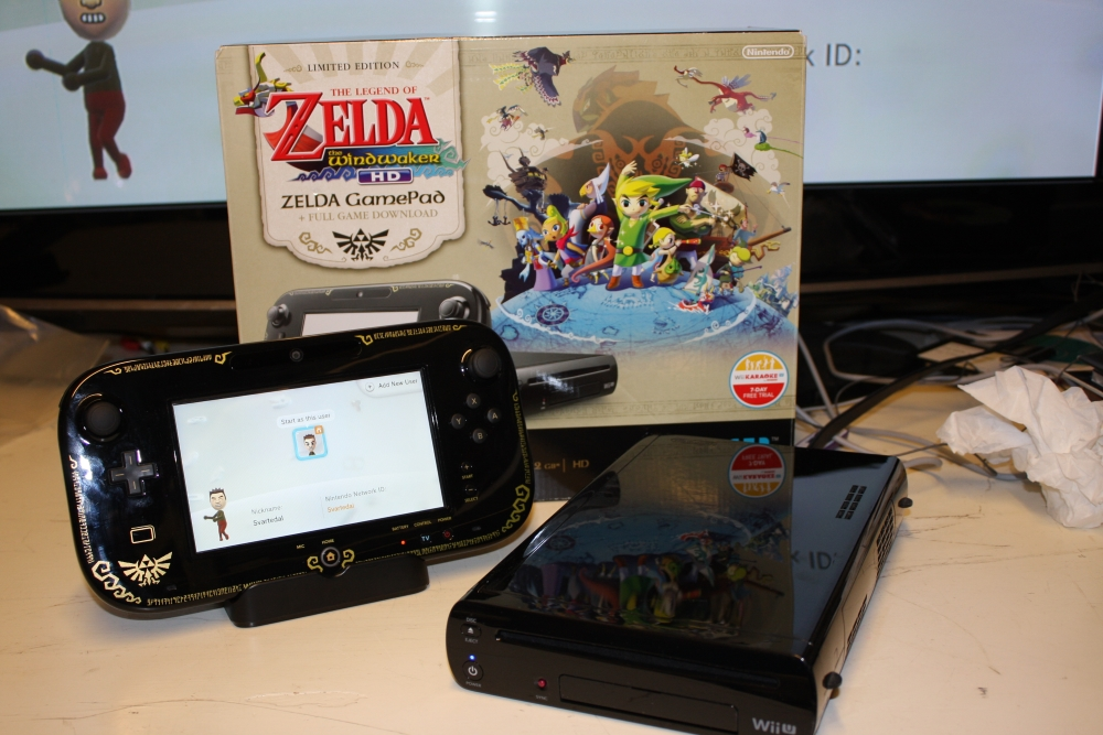 Wii U Premium (The Legend of Zelda - Wind Waker HD).