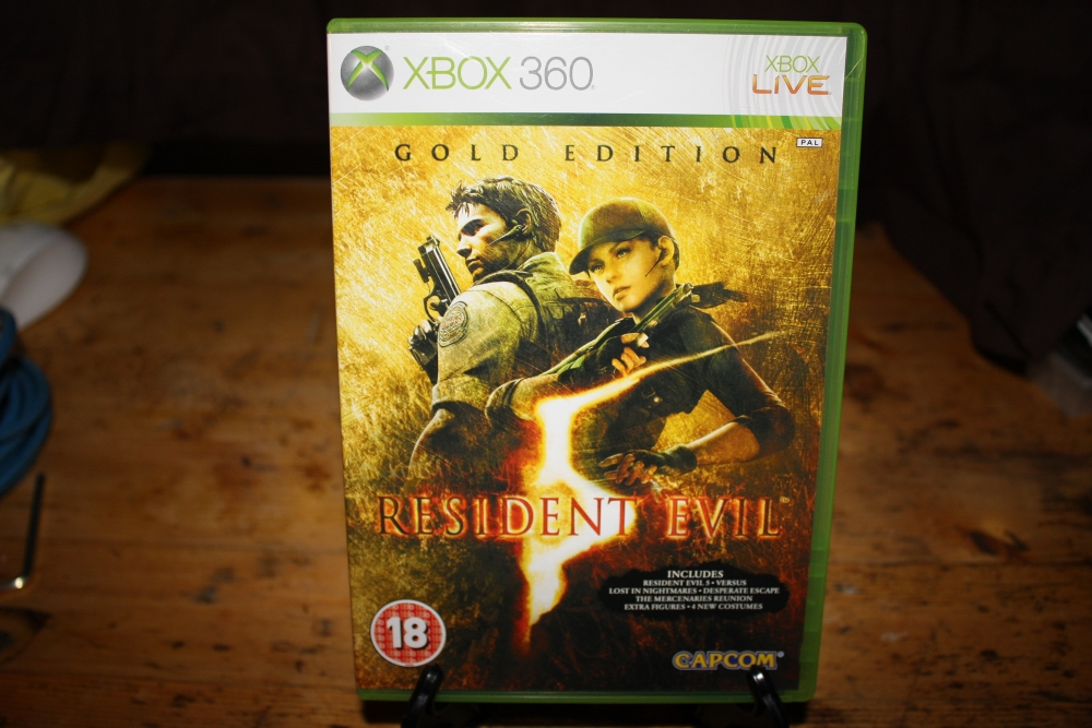 Resident Evil 5: Gold Edition (Xbox 360 PAL).