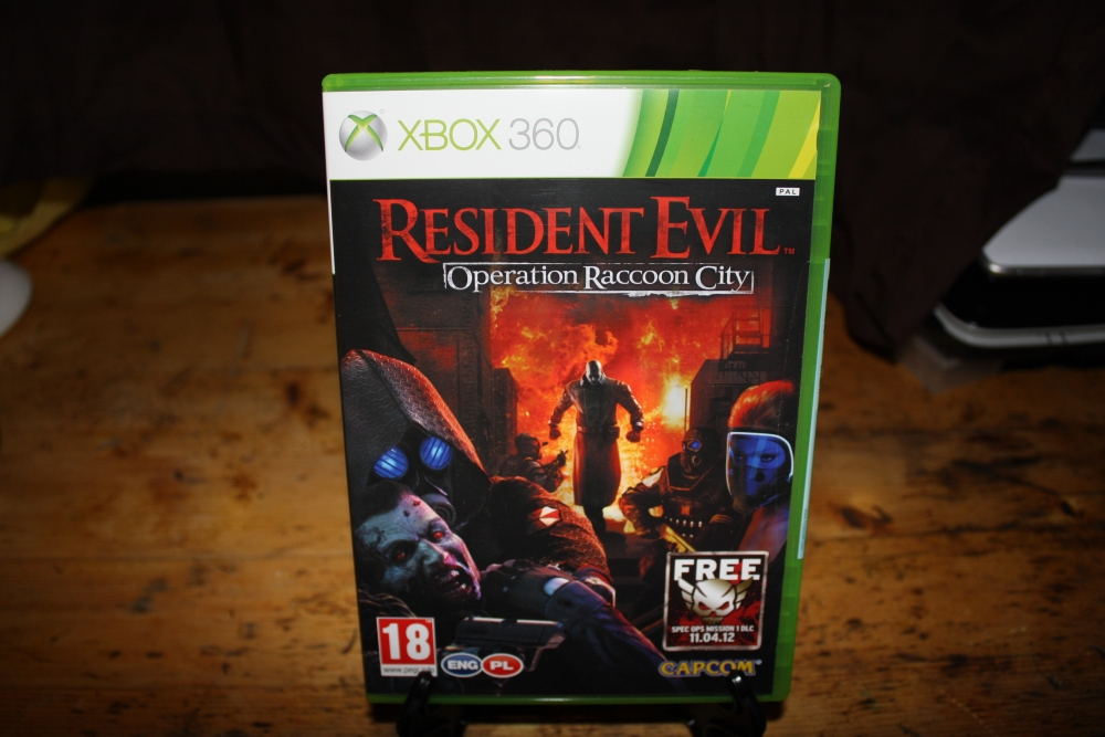 Resident Evil: Operation Raccoon City (Xbox 360 PAL).