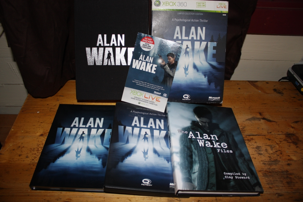 Alan Wake: Limited Collectors Edition.