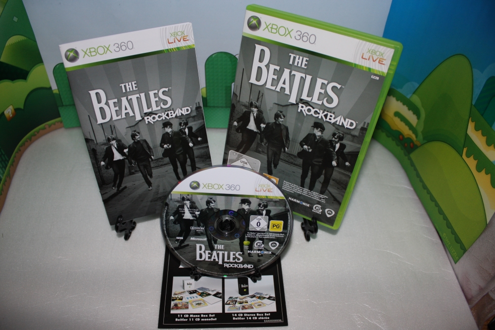 The Beatles Rock Band.