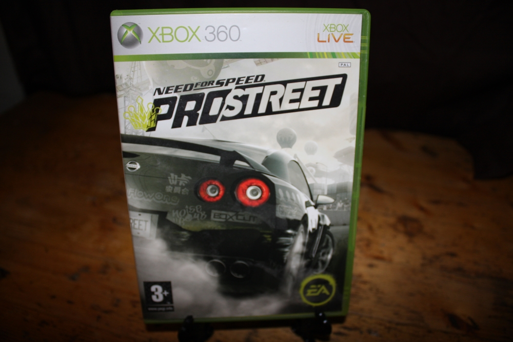 Need for Speed: Pro Street.