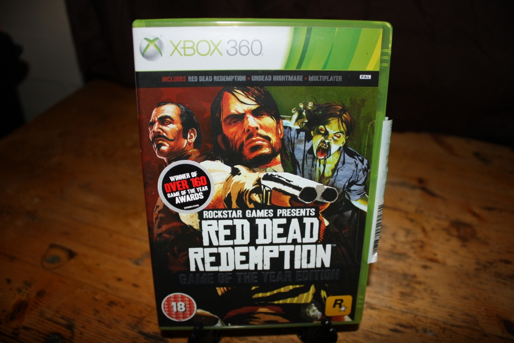 Red Dead Redemption. (Game of the Year Edition).